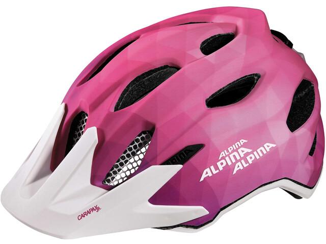 Alpina Carapax Flash - Casco de bicicleta Niños - rosa